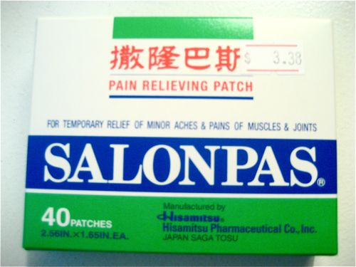 Salonpas strips