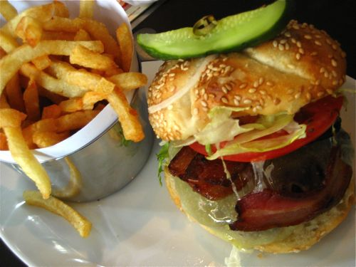 Yankee doodle dandy - that's what a burger should look like