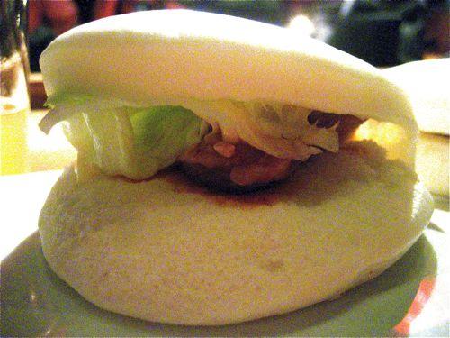 Chicken bun beats pork bun